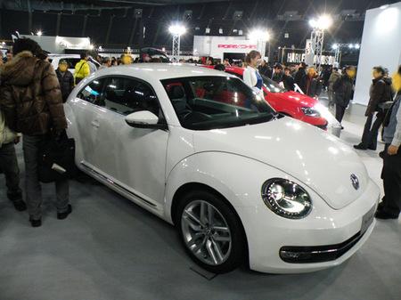 札幌モーターショー2012 01フォルクスワーゲンThe Beetle.jpg