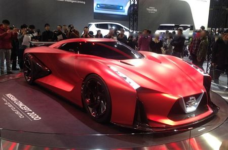 IMG_1528 札幌モーターショー2016日産Nissan Concept 2020 Vision Gran Turismo.jpg
