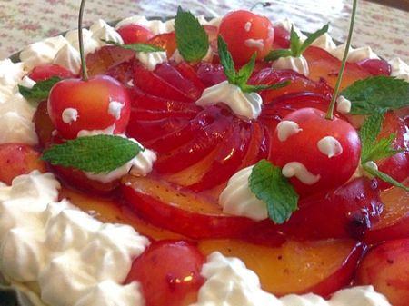 IMG_1115 レアチーズケーキ タルト サクランボ プラム.jpg