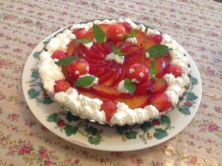 IMG_1116 レアチーズケーキ タルト サクランボ プラム.jpg